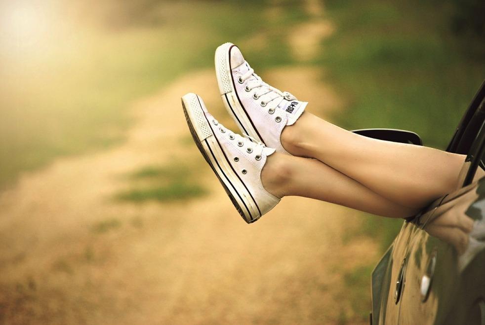 Bild 2 Schuhe in der Sommerpause