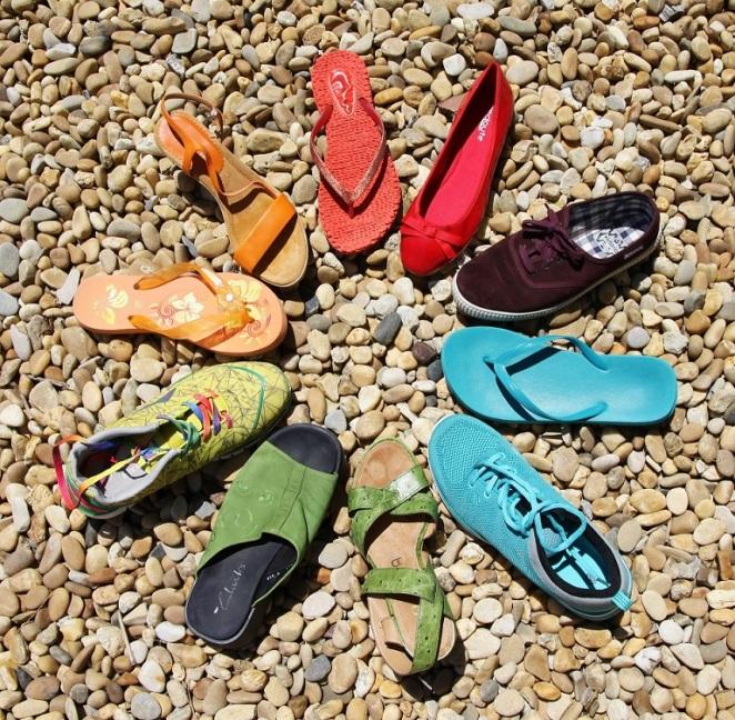 Bild Schuhe in der Sommerpause