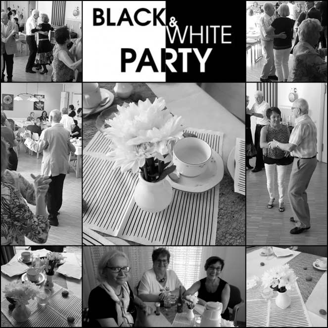 Schwarz-Weiß-Party Tanztee Rastatt