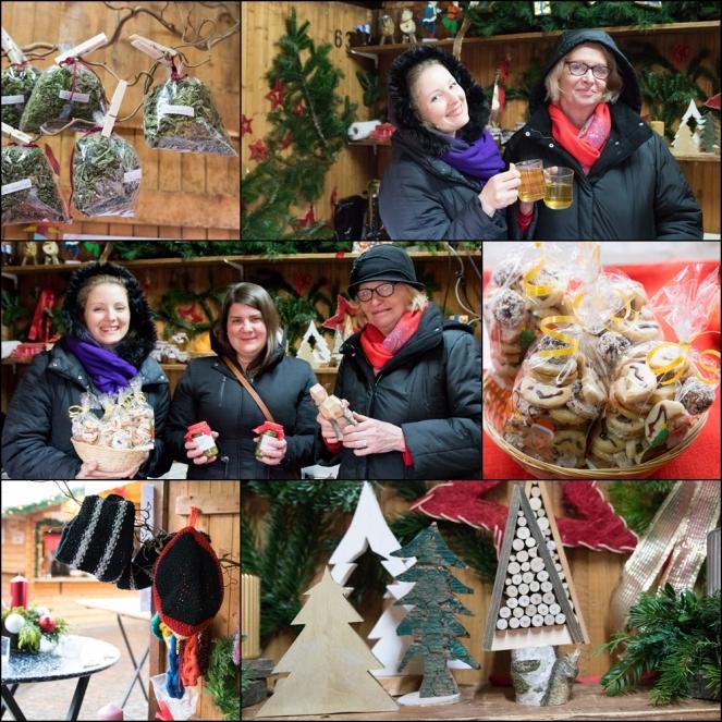 Weihnachtsmarktstand Rastatter Seniorenhilfe 2019