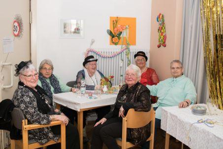 Tanztee Rastatt - 50. Jubiläum Fasching - Elisa Walker 52